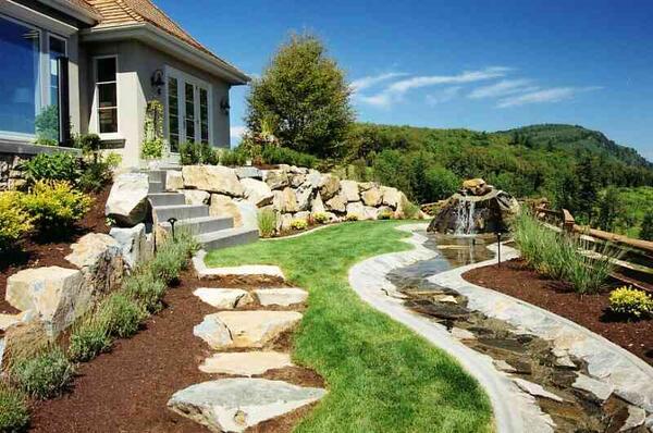 Ландшафтный дизайн участка и двора